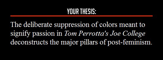 film school thesis statement generator Film school thesis statement generator - mike lacher a research paper thesis generator is a handy thing to use when you are in a rut and cannot come up with any interesting ideas.